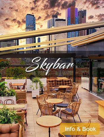 The Clarendon Skybar booking